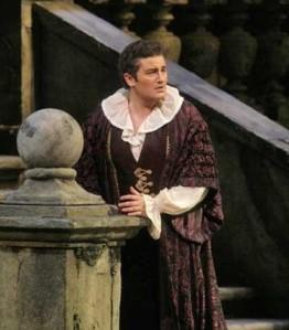 Piotr Beczala as the Duke in Rigoletto